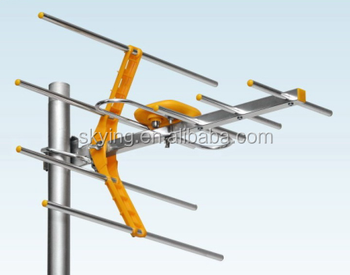 Outdoor Antenna With F Connector Cable Vhf Tv Antenna Yagi Antenna Buy Outd