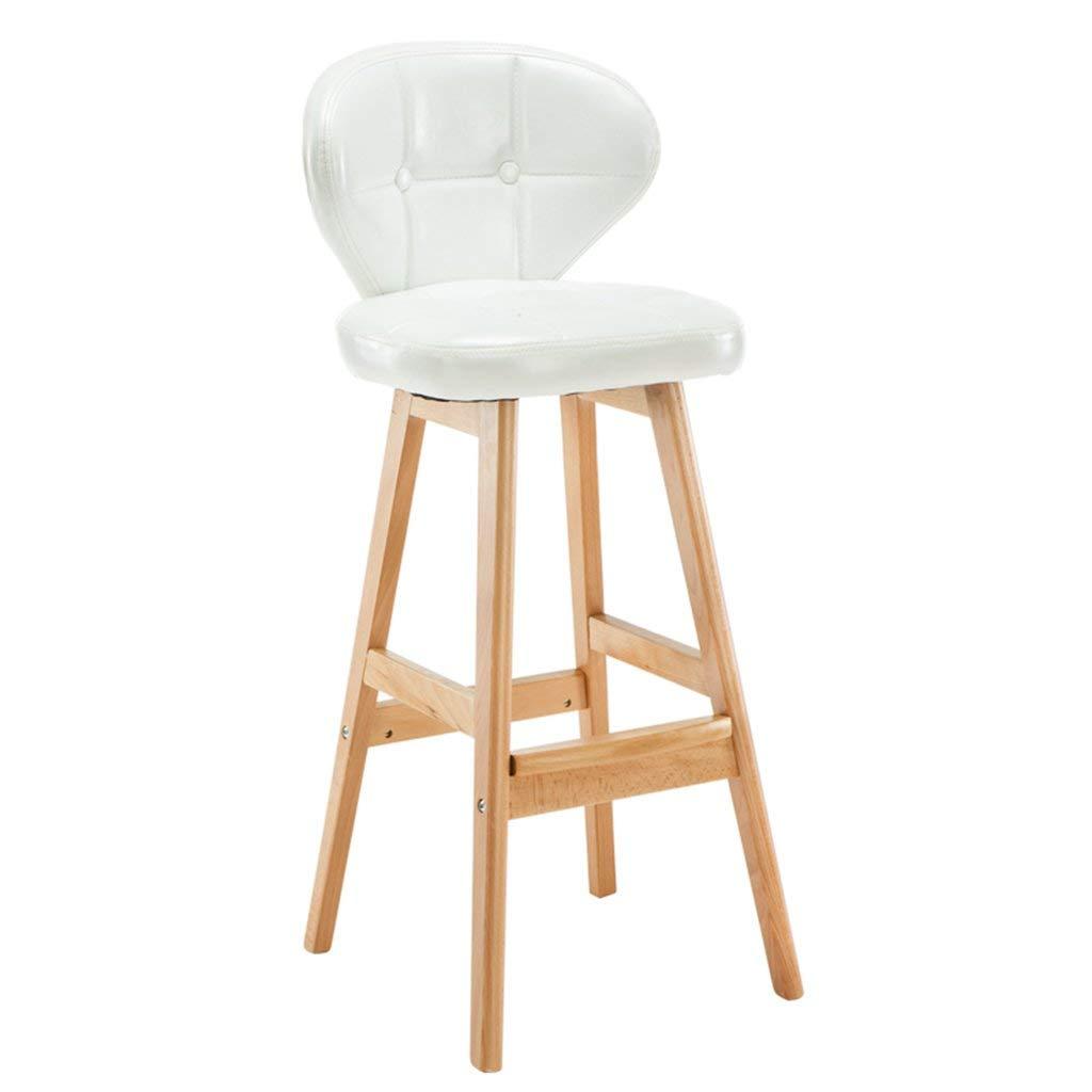 Lovely Retro Bar Chair European-style Solid Wood Bar Chair Fashion Bar Stool Chair Lift Swivel Chair Stool At The Front Desk Bar Chairs