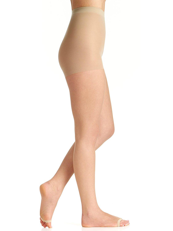 752da4242e7d1 Get Quotations · Berkshire Women's Hose Without Toes Ultra Sheer Control  Top Pantyhose 5115