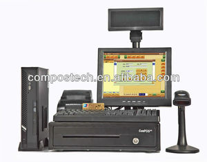 Restaurant Solution pos terminal /all-in-one touch pos pc--POS8813