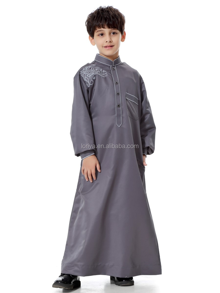 New style kids abaya islamic clothing children boy abaya buy modern