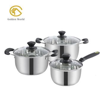 Peralatan Dapur Alat Masak Panci Set