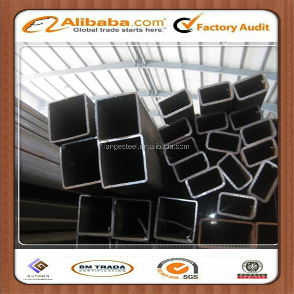 Carbon Steel Asian Black Iron Square Tube for construction