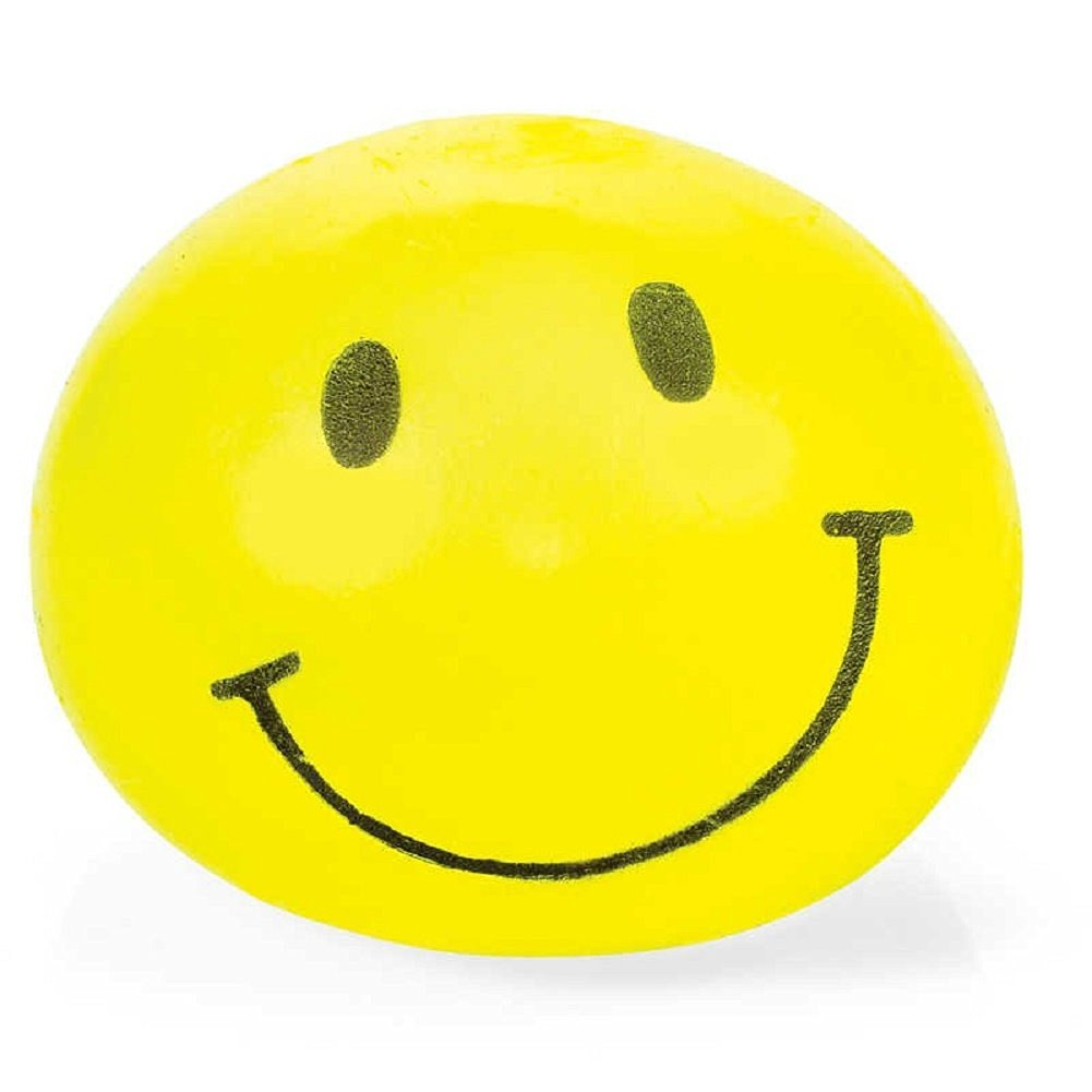 Splat Ball Novelty Squishy Smiley Face Toy