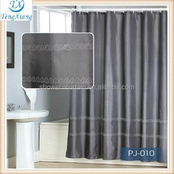 Mini Shower Curtain Rod Bath Rug Set