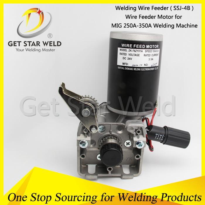 Co2 Welding Wire Feeder Motor - Buy Ssj-4a/ Ssj 4b Wire Feeder ...