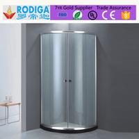 5mm tempered glass sliding door Shower Enclosure