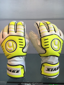finger protector goalkeeper gloves/custom logo print goal keeper gloves/football goalkeeper gloves