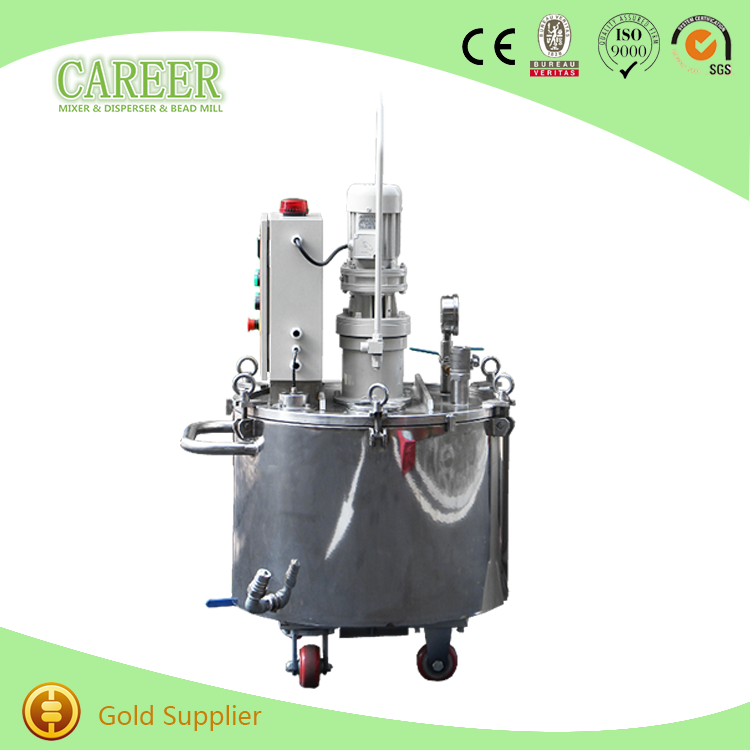 stainless steel agitator tank slurry tank with mixer