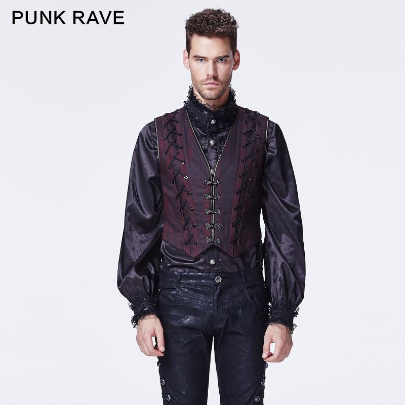 fe141f022ffa3 Y-595 Punk Rave Gothic Winter Black Skinny Two-piece Man Long Coat ...