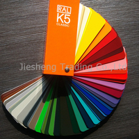 Original Germany RAL K5 Color Card 213 colors