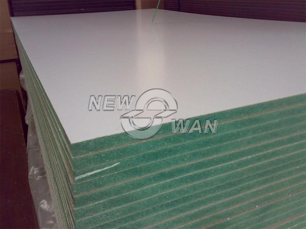 Waterproof Mdf Green Color Board Melamine
