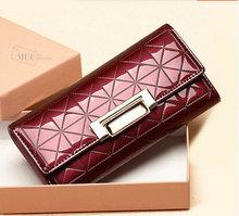 New 2014 Women Wallets Women's Purse Long Design Brand Wallet Change Purses Trave Folding Ladies' Wallets Clutch Purses A008