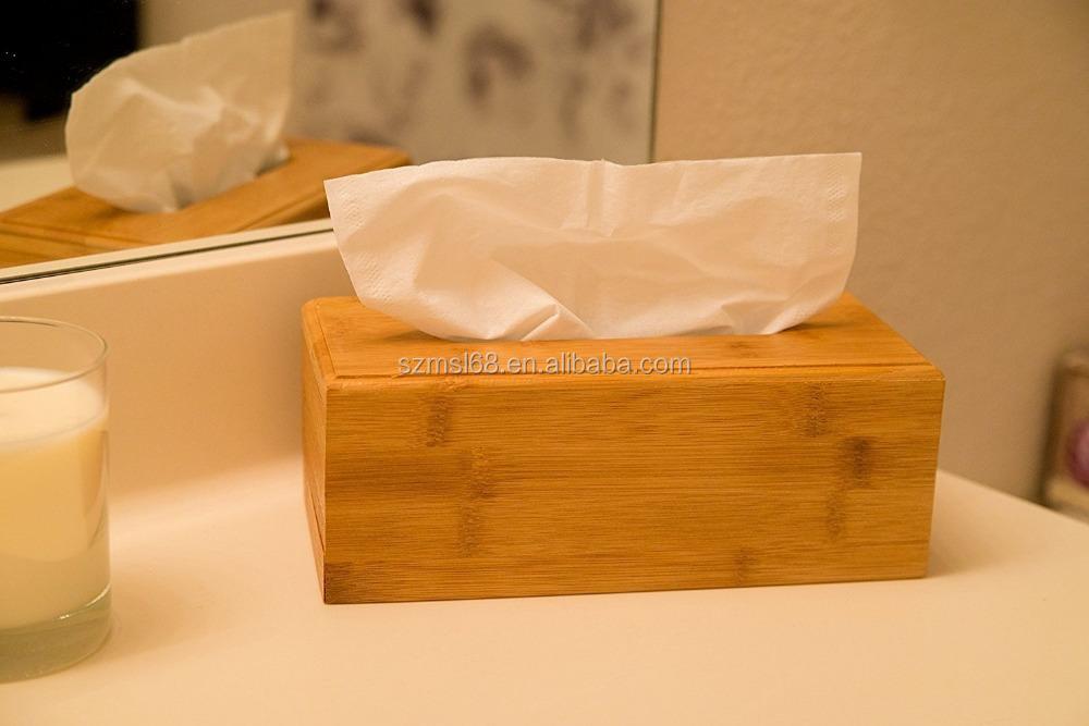 high-quality-bamboo-car-tissue-box-holder