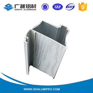 Good sell sliding window triangle aluminum profile