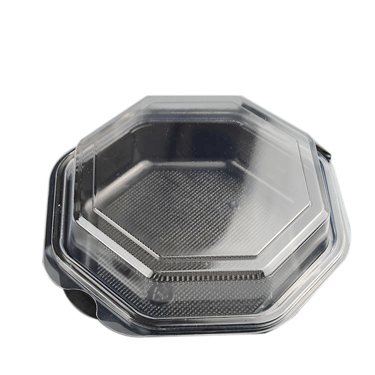 Disposable Microwave Takeaway Plastic Kps Transparent Base Food Containers With Lid