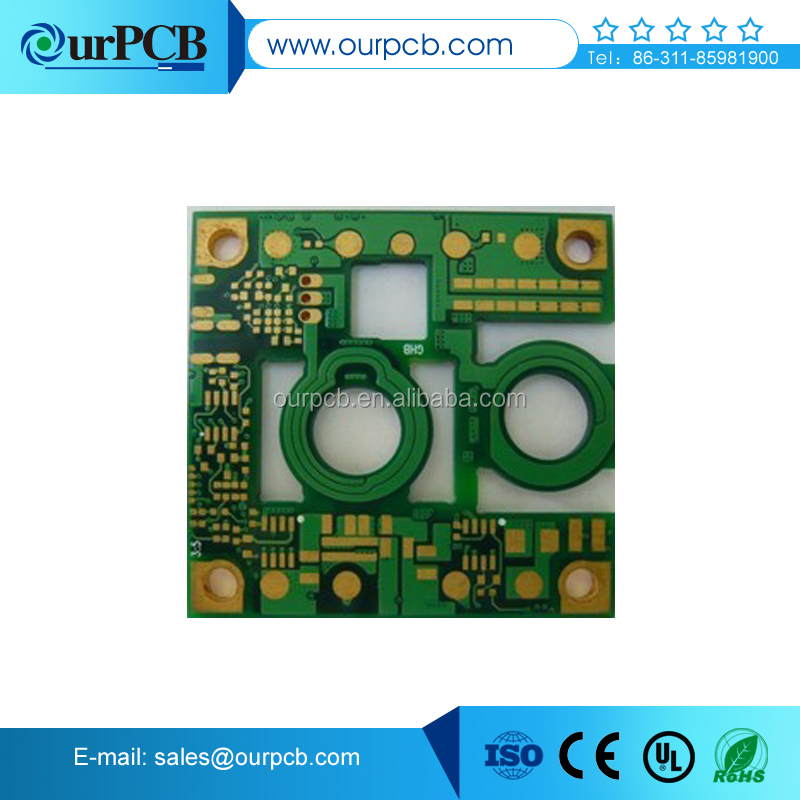 HighTG FR4 flashing led circuit picture pcb smt