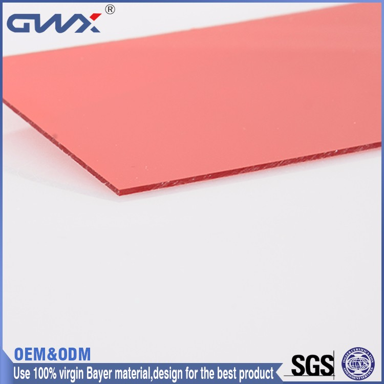 Lexan Virgin PC Polycarbonate Sheets Industrial Sound Absorbing Panels