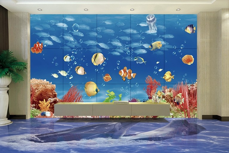 hs3051 3d brique panneau mural décoration,3d plancher pour salle
