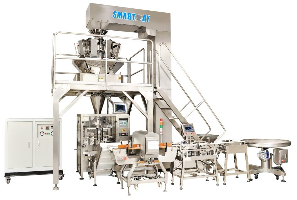 pouch packing machine economic for food weighing-2