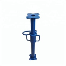 Light Duty Adjustable Acrow Shoring Steel Props With Sleeve And Nut