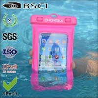 diving smart phone waterproof bag/floating diving waterproof bag/mobile phone waterproof floating bag