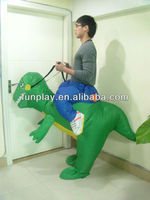 2014 high quality inflatable dinosaur costumes adult wholesale