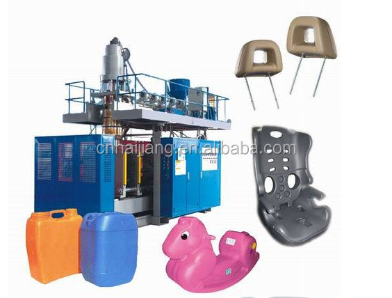 100L plastic blue barrel extrusion blow molding machine