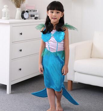 The Little Mermaid Costume Girls font b Fancy b font Princess Cosplay font b Dresses b