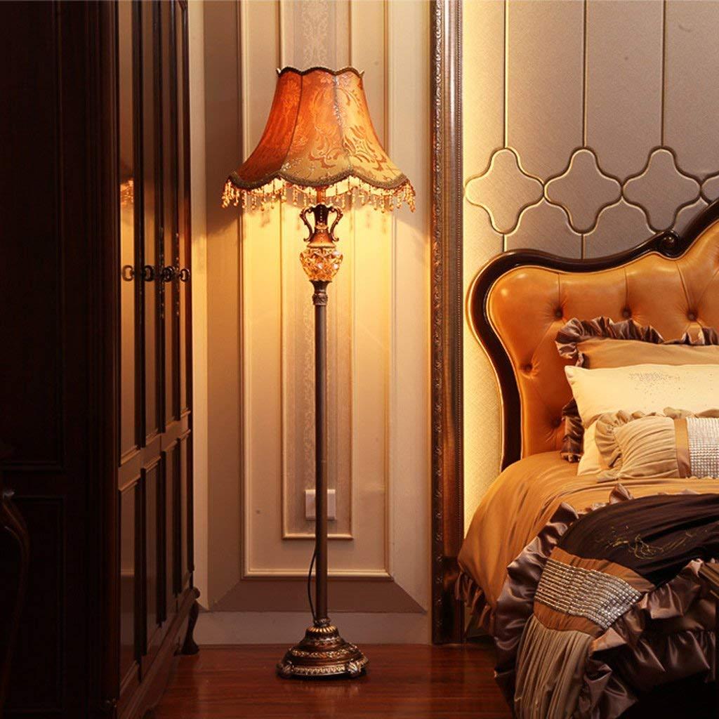 SED Floor Lamp-Led European Floor Lamp Fashion Creative Vertical Sofa Floor Lamp Modern Simple Bedroom Bedside Floor Lamp Eye Protection Vertical Table Lamp