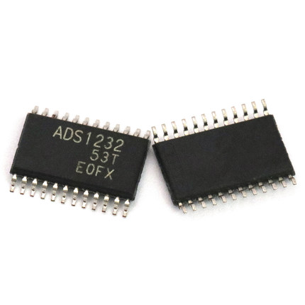 5 PCS ADS1232IPW TSSOP-24 ADS1232 24-BitLow-Noise Analog-to-Digital Converter