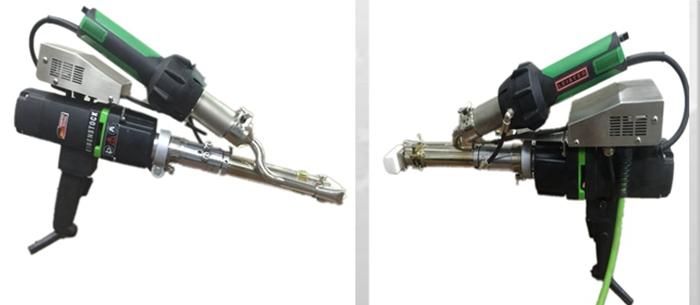 Горячая продажа Китай Haiming HDPE PVC PE PP Горячего Воздуха Пластиковый сварочный пистолет