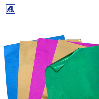 Household Used Colored Laminated Aluminum Foil Paper Sheet For Tray Packaging Product On