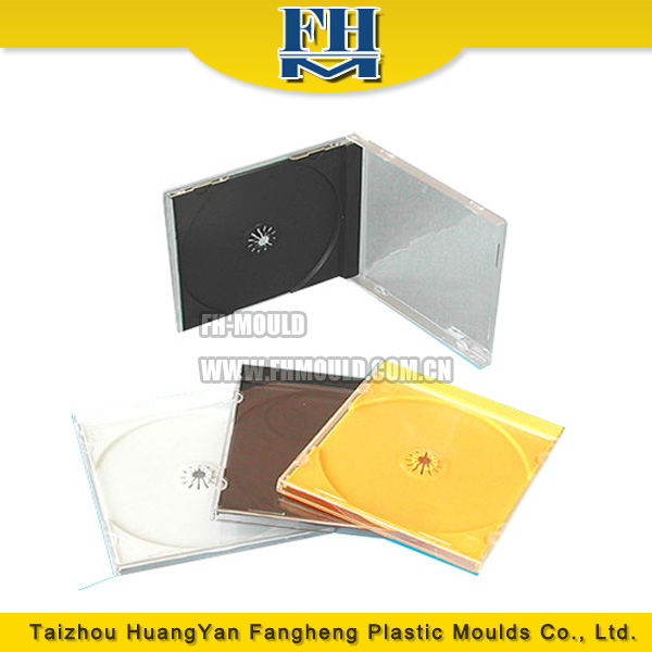 CD/DVD Case Mould Plastic CD Tray Mould supplier
