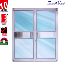 Commercial windows aluminium picture lead for kfc glass doors and windows