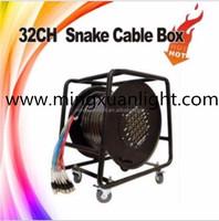 Black Audio Snake Cable Management Box