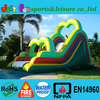 cheap inflatable slide for pool color&size customized