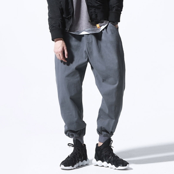 custom high quality 100% cotton jogging sports fleece track pants/wholesale man jogger pants in China