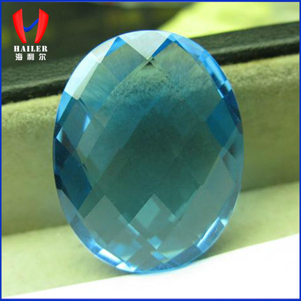 Swiss Blue Oval Cut Spinel Gemstones Wholesale Prices