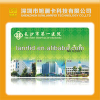 PLA fabric card