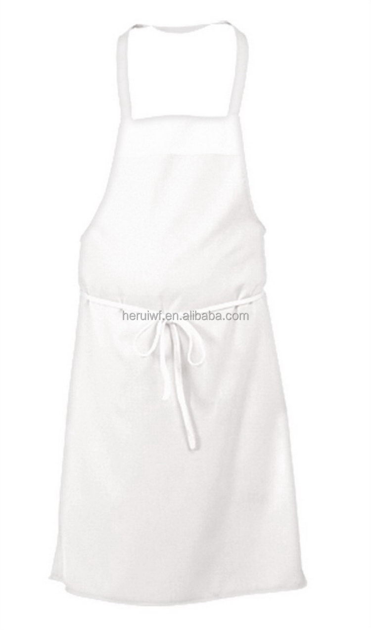 White apron for lab - White Apron For Lab 12