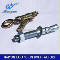 Carbon Steel Anchor Nut And Anchor Bolt Concrete Wedge Anchor