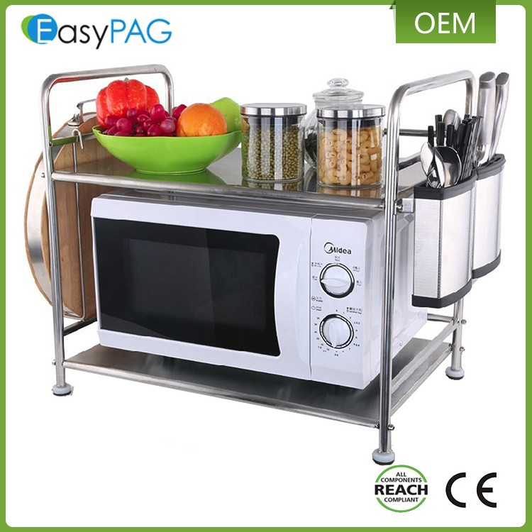 Factory Suppily Best Quality Multi Layer Metal Microwave Oven Rack Shelf