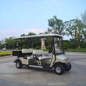 Long service life 4 seats right hand drive electric golf carts
