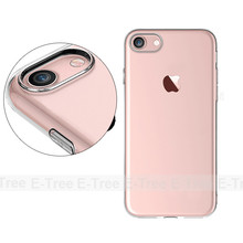 Ultra Thin Clear Crystal Transparent TPU Case Cover For iPhone 7, tpu case for iphone 7