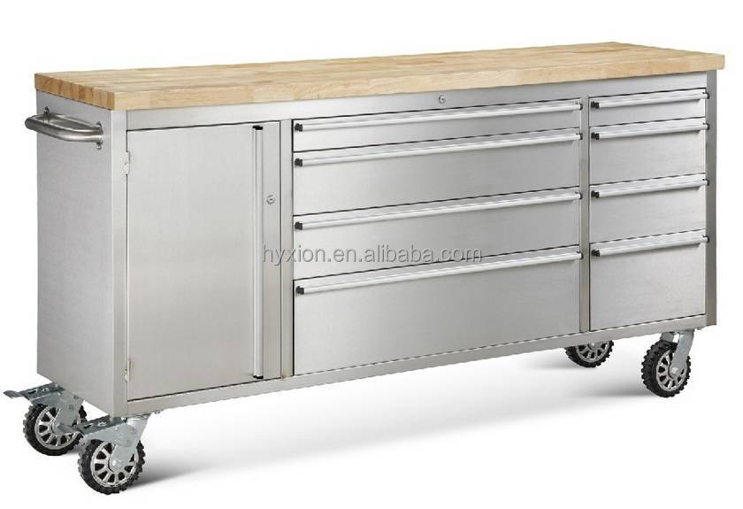 Us General 56 Inch Tool Box With 10 Drawers Htc5510w View Us