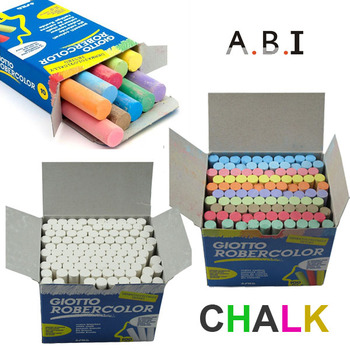 Government bid cheap price dustless blackboard white chalk color chalk