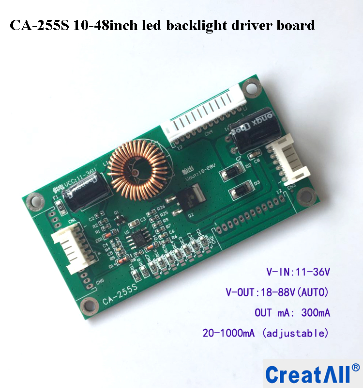 CA-255S 10''-48'' inch LED LCD TV Universal Constant Current inverter LED backlight driver board PCBA circuit board