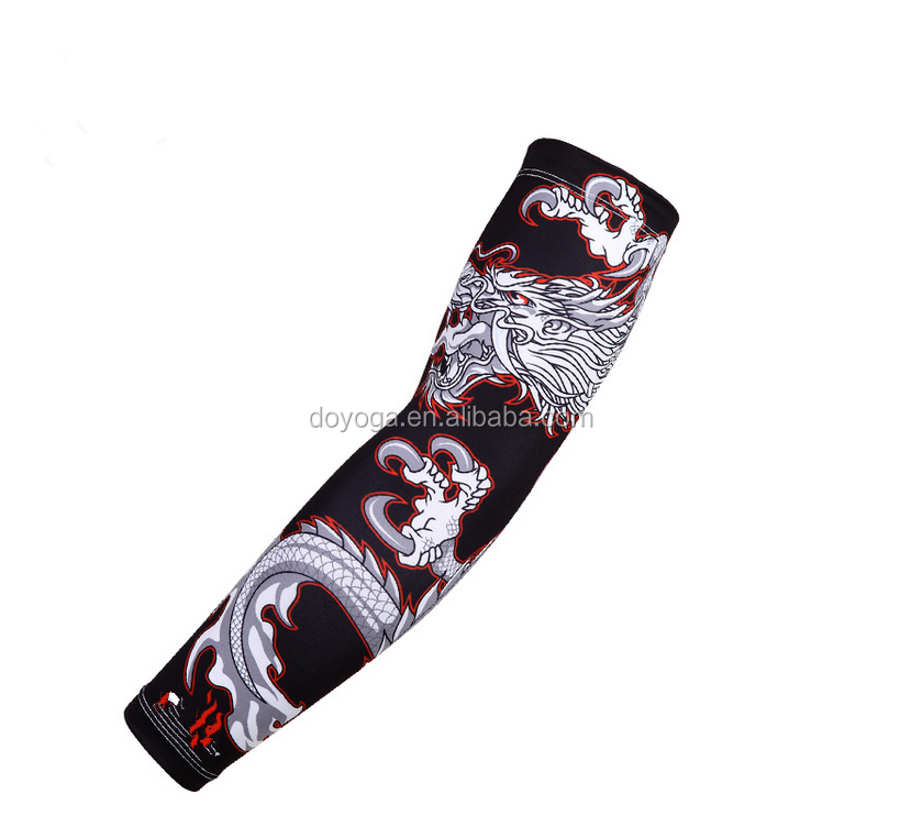 Promotional Custom Sublimation Printed Wholesale Sports Arm Sleeves
