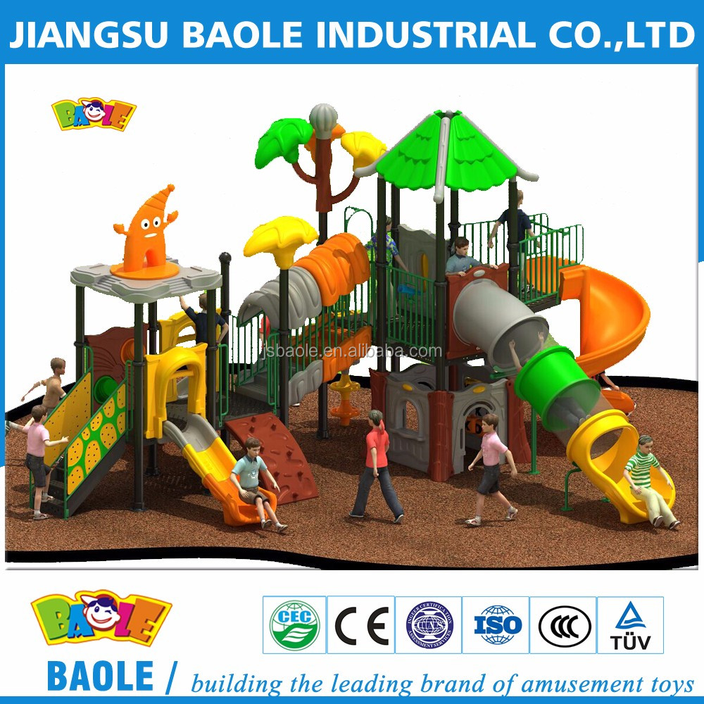 2016 Kids Used Outdoor Sports Playground Equipment